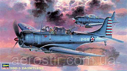 Douglas SBD-3 Dauntless 1/48  Hasegawa JT19