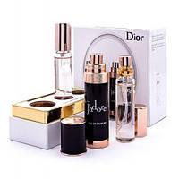Подарочный набор парфюмерии Christian Dior Jadore black 3 *20 мл