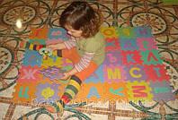 Игровой коврик-мозаика «Весёлый алфавит» М0378