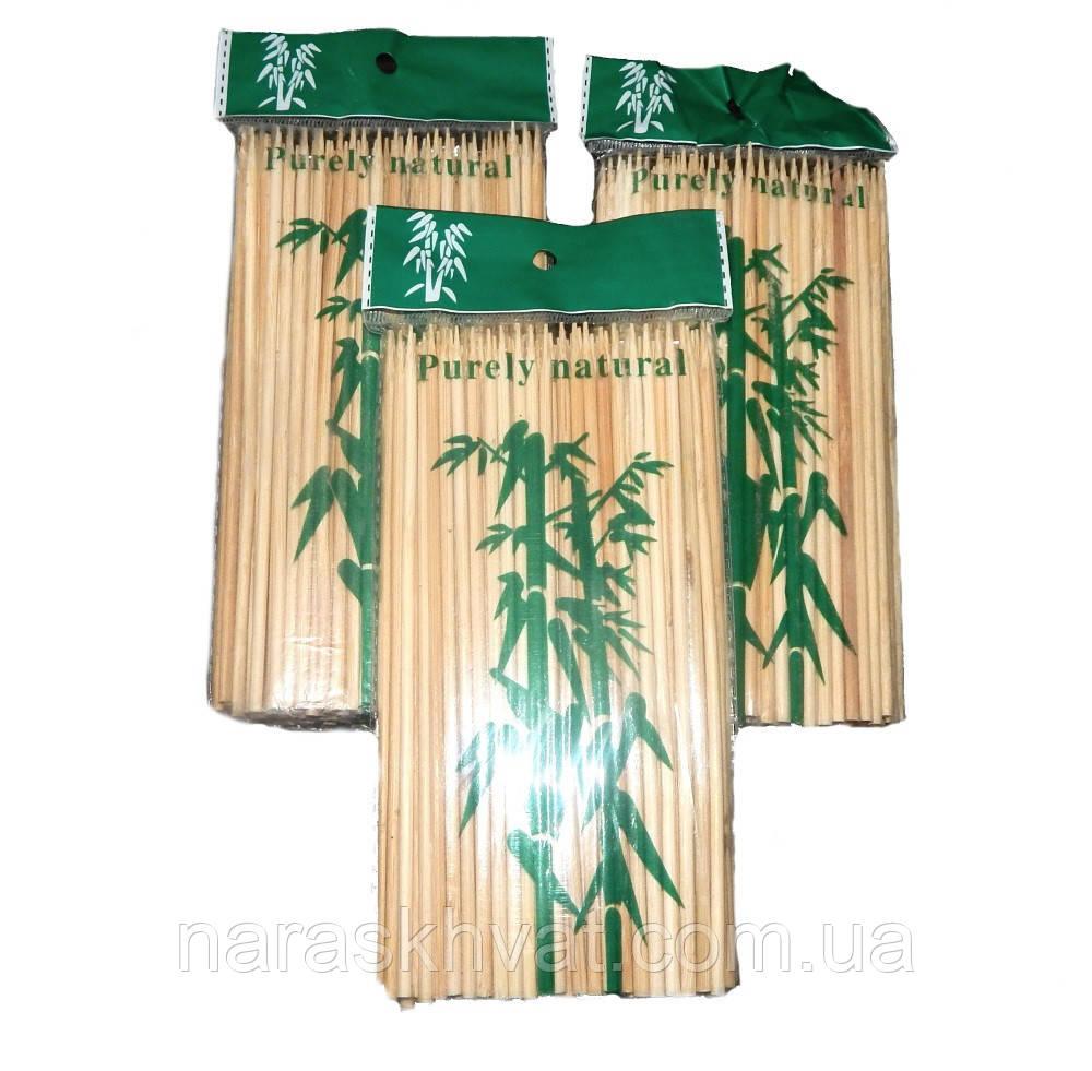 Шпажки бамбуковые 15 см/3 мм