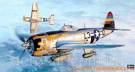 P-47D-25 Thunderbolt 1/48  Hasegawa JT40