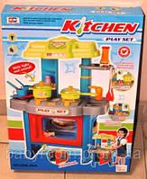 Кухня детская игрушечная электронная 008-26 А голубая