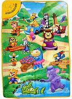 Детский развивающий коврик  Веселый зоопарк YQ 2969