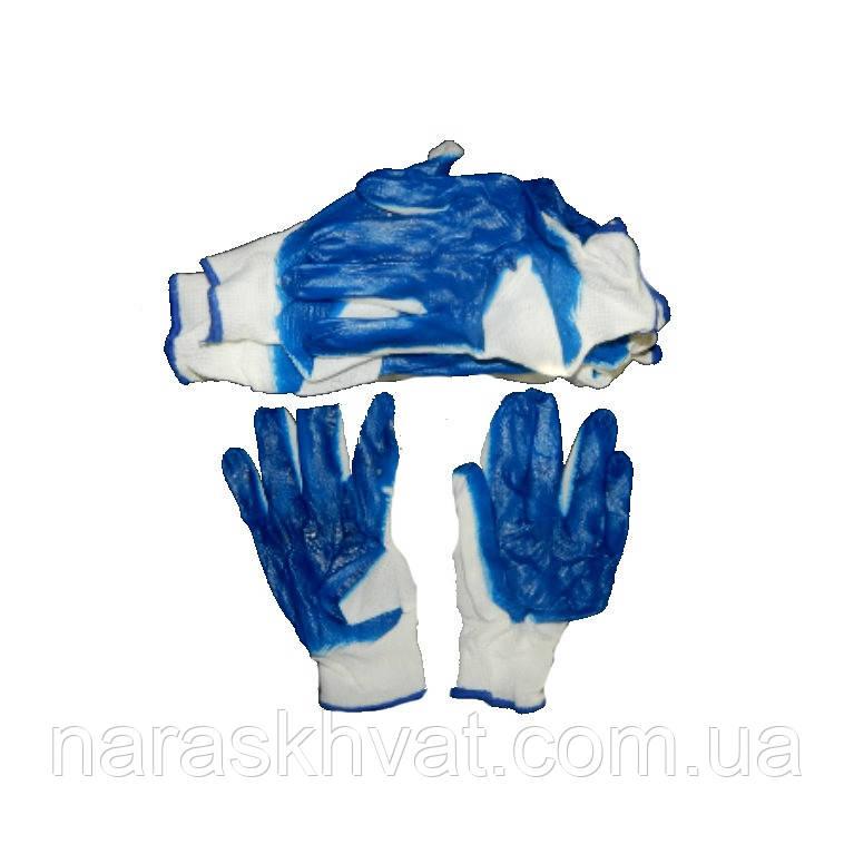 Перчатки стрейч+нитриловое покрытие (Вампирки)