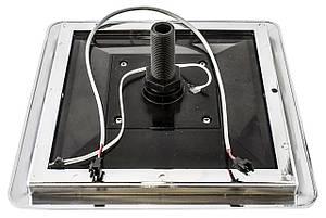 Лейка для душевой кабины, квадратная 235х235 мм. c подсветкой ( Л-235х235 П ), фото 2