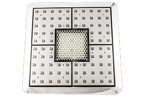 Лейка для душевой кабины, квадратная 235х235 мм. c подсветкой ( Л-235х235 П ), фото 3