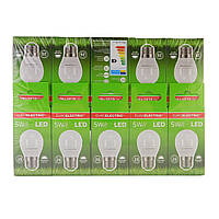 LED Лампа Euroelectric G45 5W E27 4000K, фото 1