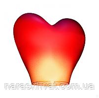 Фонарик желаний Сердце красное