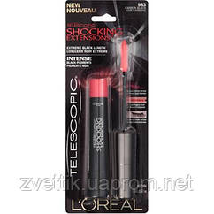 Тушь для ресниц LOreal Telescopic Shocking Mascara