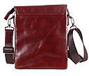 Мужская кожаная сумка Dovhani COFFEE007-4 коричневая, фото 5