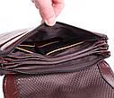 Мужская кожаная сумка Dovhani COFFEE007-4 коричневая, фото 8