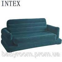 Надувной диван-кровать Intex 68566 (193х231х71 см)