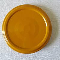 Крышка закаточная твист-офф размер 66 мм желтая