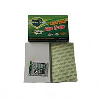 """Green leaf"", клеевая ловушка-лист с приманкой, тараканы"