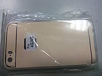Чехол-накладка для iPhone 4 силиконовый прозрачный