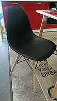 Стул DS-913 ENZO черный, деревянные ножки - бук