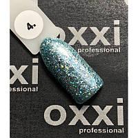 Гель-лак OXXI Professional Star Gel № 004 (мятный, с блестками и слюдой), 8 мл