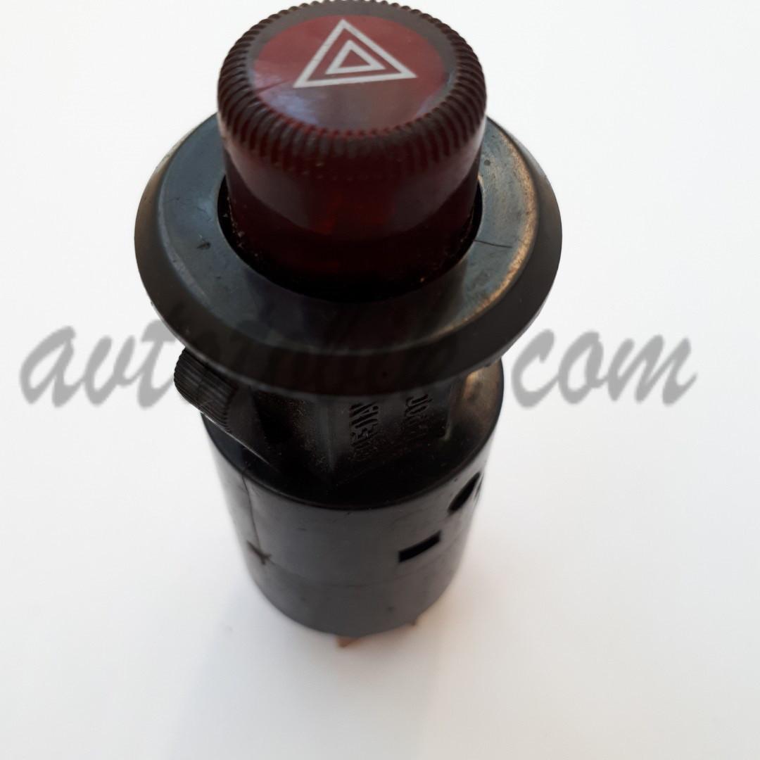 Кнопка аварийной сигнализации 7-ми контактная ВАЗ 2101-07 (Россия, Авар)