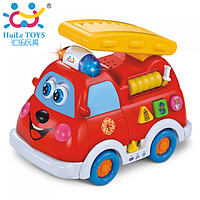 Музыкальная ПОЖАРНАЯ МАШИНА Huile Toys 526, фото 1
