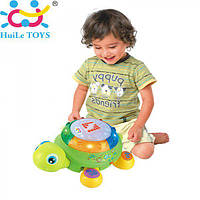 Музыкальная ЧЕРЕПАХА Huile Toys 596, фото 1