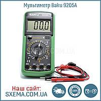 Мультиметр Baku BK-9205A с измерением конденсаторов, напряжения, силы тока, фото 1