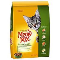 Meow Mix Indoor Formula (Мяу Микс) корм для взрослых кошек, не выходящих на улицу  9.98 кг