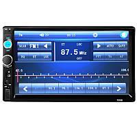 """➤Автомагнитола 7"""" Lesko 7010B AVI, MP4, FLV автомобильная музыкальная с функцией просмотра видео"""
