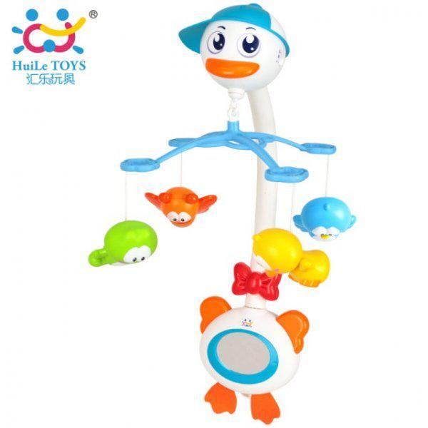 Музыкальный мобиль Лебедь Huile Toys 858