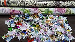 "Хлопушка ""Доллар/Евро""  80 см"