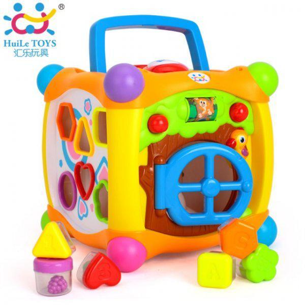 Музыкальный ВОЛШЕБНЫЙ КУБИК Huile Toys 936