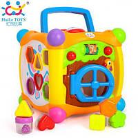 Музыкальный ВОЛШЕБНЫЙ КУБИК Huile Toys 936, фото 1