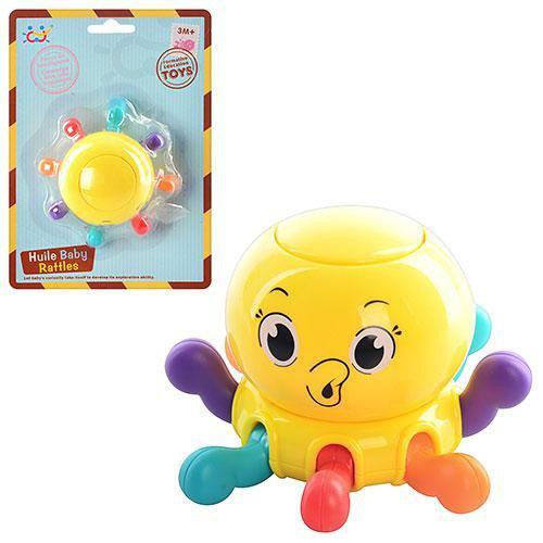 Погремушка ОСЬМИНОГ Huile Toys 939-4