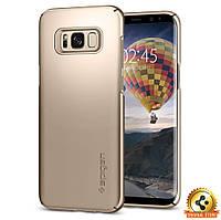Чехол Spigen для Samsung S8 Thin Fit, Gold Maple, фото 1