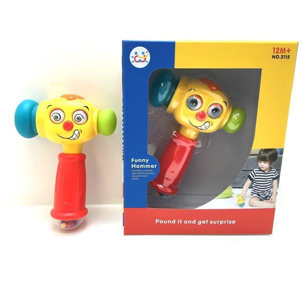 Игрушка ВЕСЕЛЫЙ МОЛОТОК Huile Toys 3115