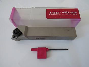 Резец проходной подрезной с механическим креплением 25х25х150 MWLNR М8 MBC