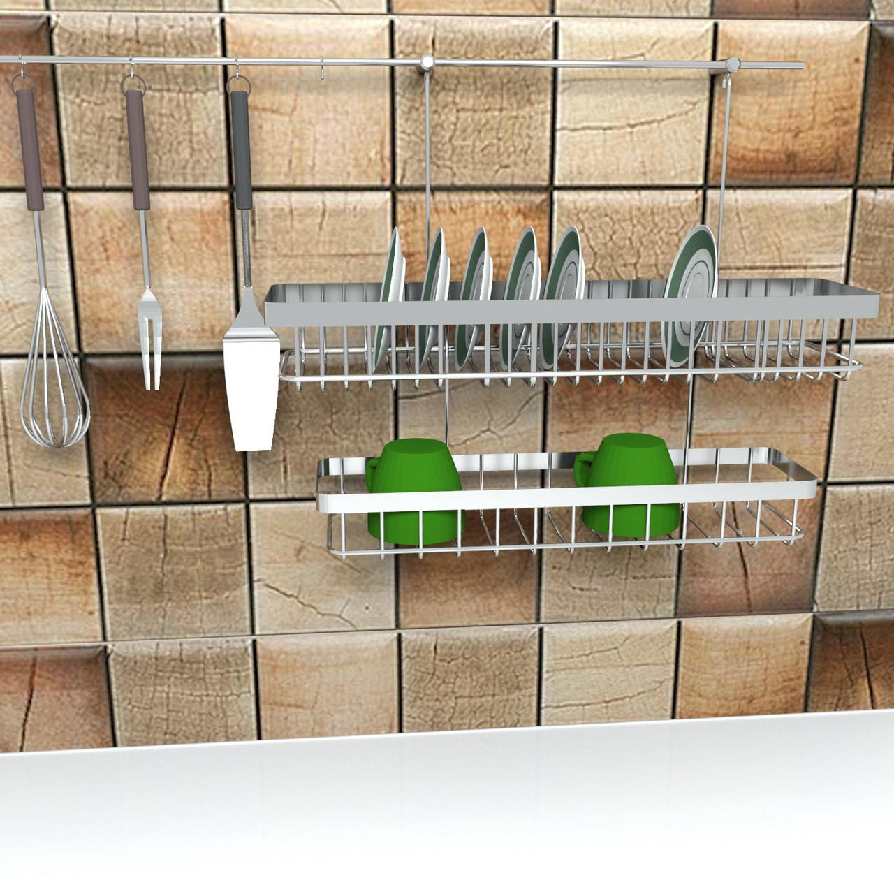 Рейлинг 🏠 под посуду для кухни и дома