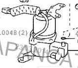 Пневмокомпрессор на Лексус / Lexus GX470, Toyota 48910-60020, 48910-60021, фото 3