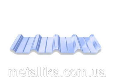 Профнастил кровельный ПК-45 цинк Китай 0,4 мм
