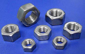 Гайка М16 шестигранная ГОСТ 5915-70, DIN 934 из нержавеющей стали А2, фото 2
