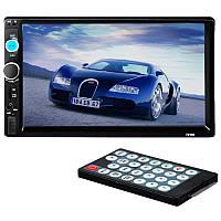 ✤Автомагнитола Lesko 7010B с сенсорным экраном 7 дюймов 2 Din с функцией ответа на звонки + пульт управления