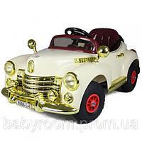 Электромобиль детский на резиновых колесах BS8888R/C Buick RETRO