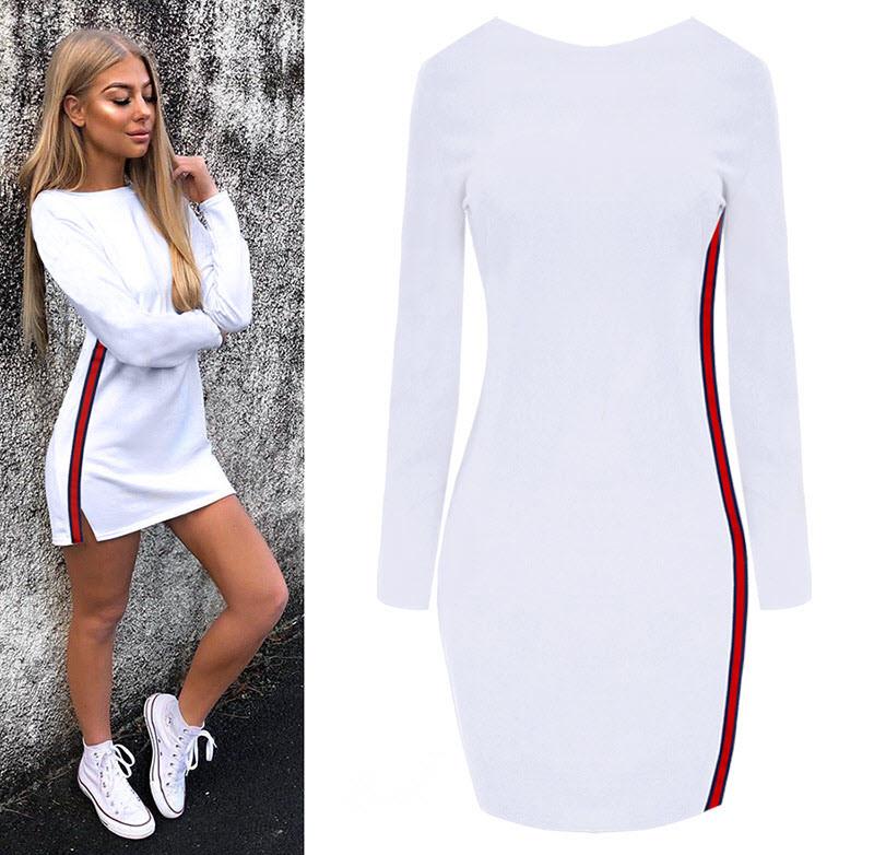 Модное Платье В Стиле Спортивном Купить
