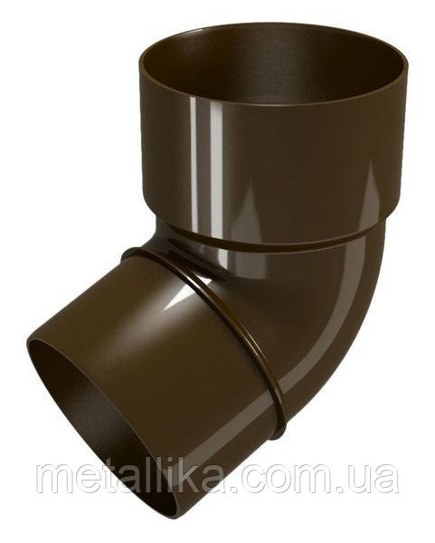 Колено трубы 67 гр. 80  Classik 120