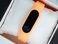 Фитнес браслет (трекер) Smart Band M2 + приложение DroiHealth, оранжевого цвета, фото 1