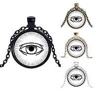 Кулон с изображением ока, фото 1
