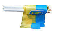 Флаг Украины на липучке 20*15 см, фото 1