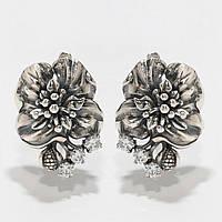 Серебряные серьги 1112904