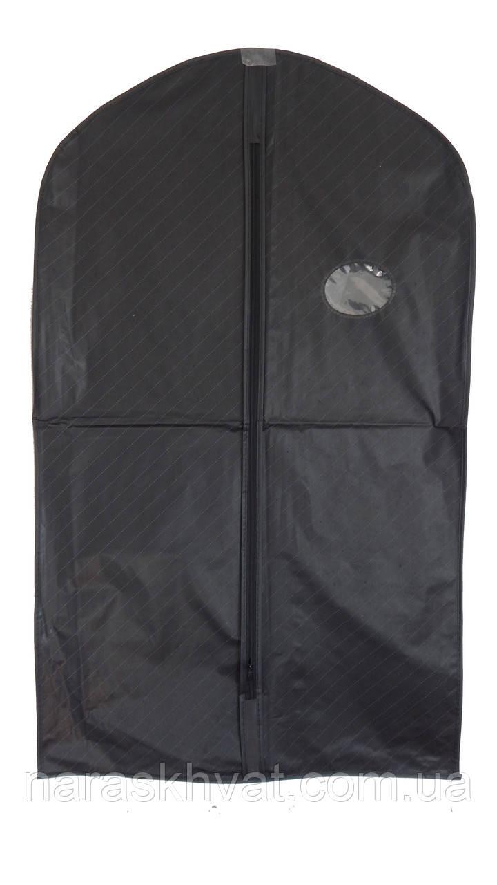 Чехол для одежды с окошком 100*60 см (35-4)