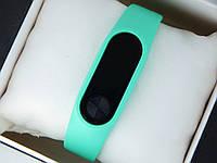 Фитнес браслет (трекер) Smart Band M2 + приложение DroiHealth, бирюзового цвета, фото 1