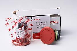 Кнопка-грибок LAY5-ВC42, ВS542, ВS642  червона, 22ø, NC